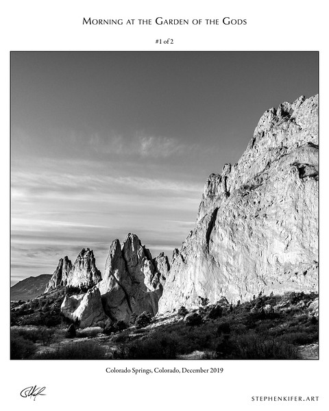 Morning at the Garden of the Gods