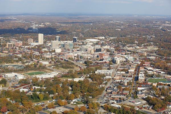 Downtown Greenville November 13, 2014