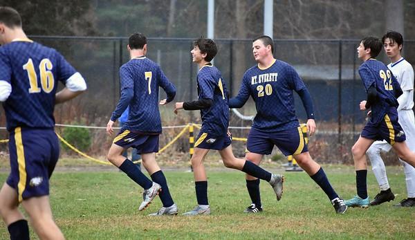 Mount Everett boys soccer vs. Mohawk -110719