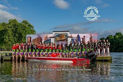 Waterski - Rock Aqua Jays [d] Sept 01, 2019 Team Photos