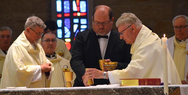 Preparing to share the Eucharist