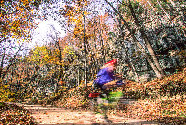 Cave Mountain Road -- Adventure Cycling's Central Loop