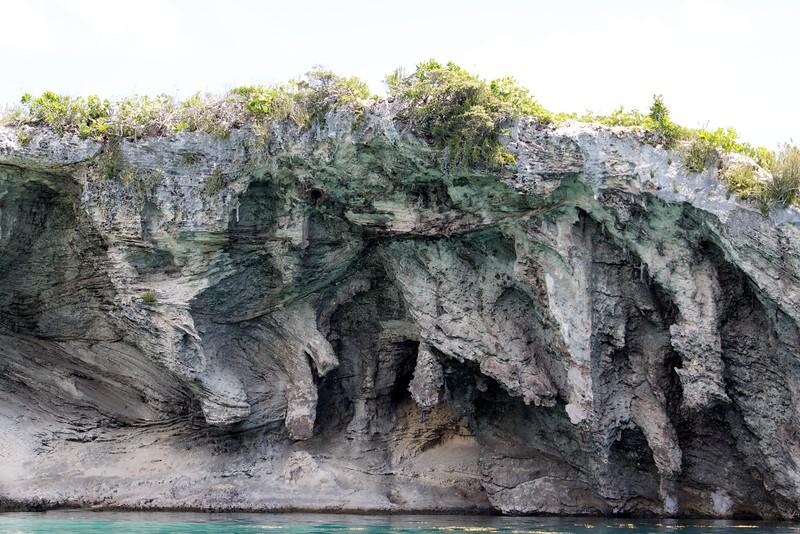 Cliffs at Dean's Blue Hole