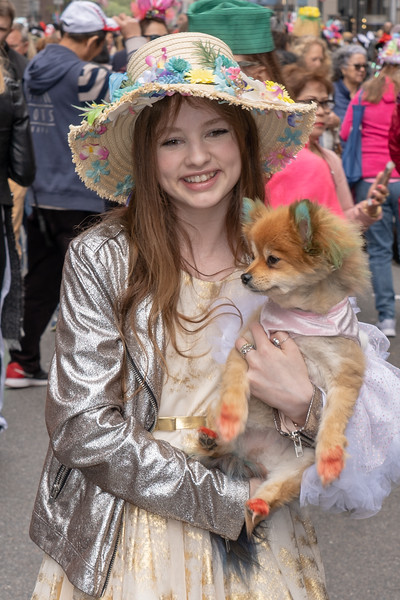 Easter Parade & Bonnet Festival 2019 on Fifth Avenue, New York - April 21, 2019