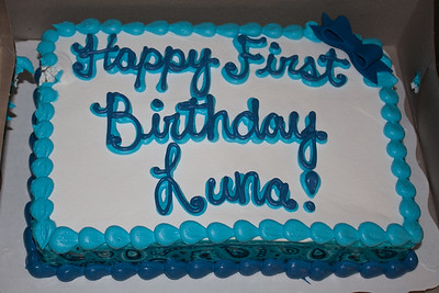 Luna's First Birthday