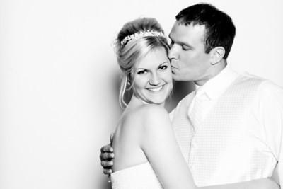 Courtney and Tim Wedding Photobooth