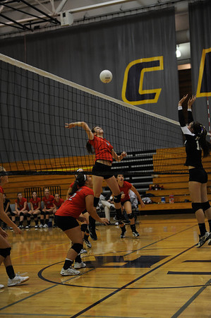 <center><br>Lady Titan Volleyball <br>Union at Columbia River<br>Oct 1, 2009</center>