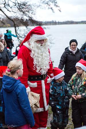 Da julemanden kom til Nordborg 01.12.2017