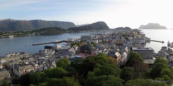 2015-06 Norge, Alesund & Molde