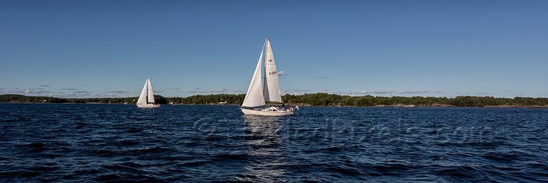 Sailing on Lake Vänern