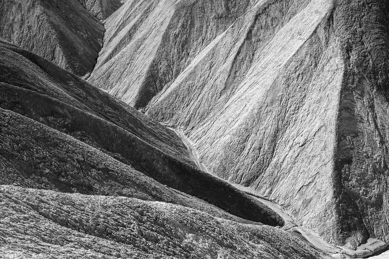 Death Valley near Zabriskie Point
