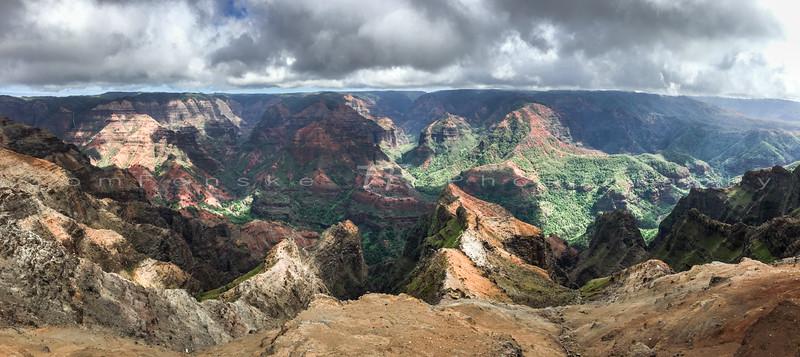 Lush Tropical Canyon