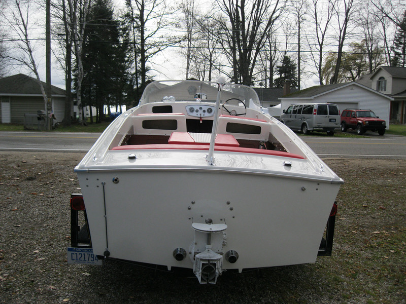 Finished transom. Project completed on October 28th 2010.