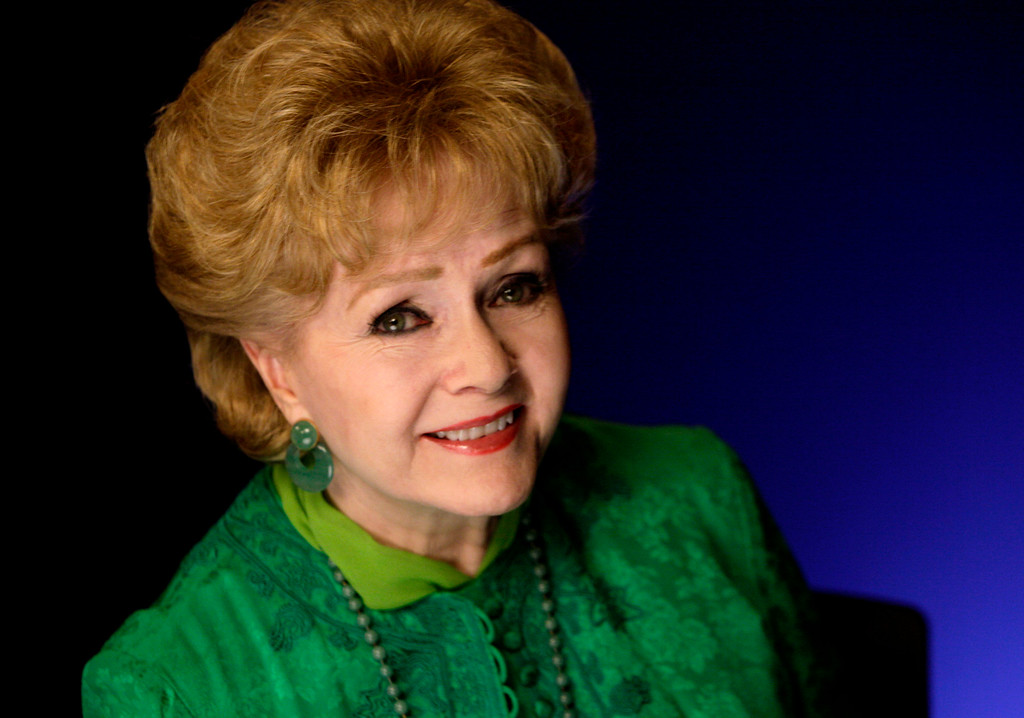 . Actress Debbie Reynolds poses for a portrait in New York,  Friday, Oct. 14, 2011. (AP Photo/Richard Drew)