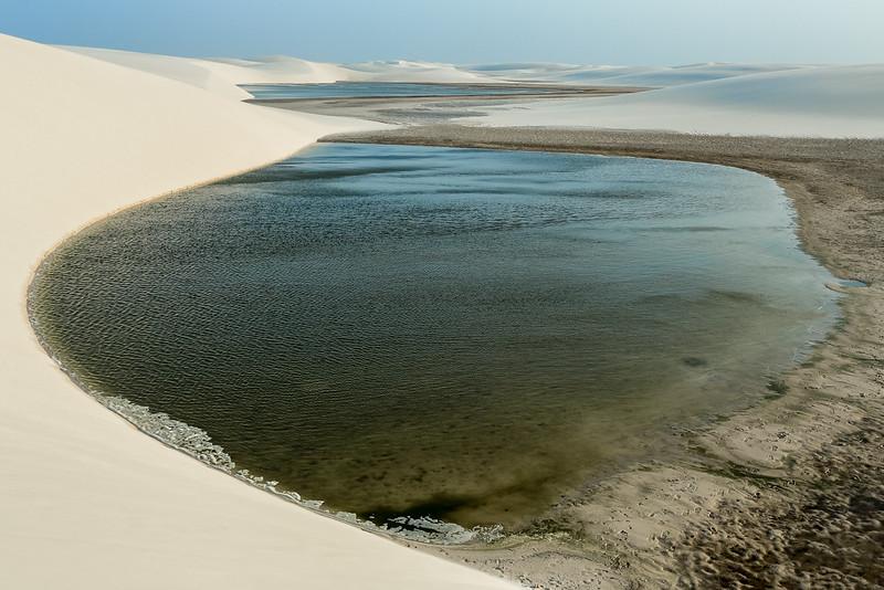 Lagoa das Andorinhas (Seagull Lagoon), Lençóis Maranhenses, Maranhão - Brasil