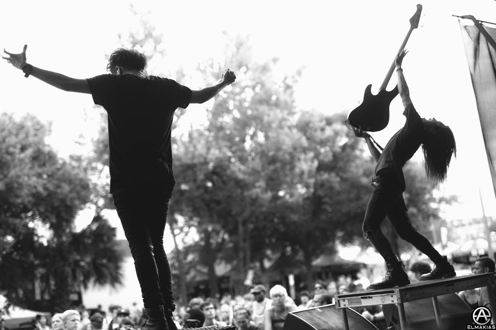 Crossfaith live at Vans Warped Tour 2015 by Adam Elmakias