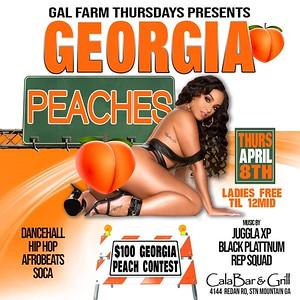 GAL FARM THURSDAYS PRESENTS GEORGIA PEACHES