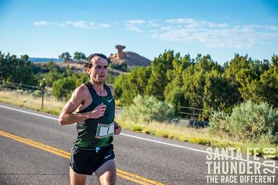 Camel Rock Mile 10.2 Santa Fe Thunder Half Marathon 2018