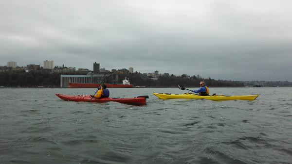 Tacoma Waterfront (February 2012)
