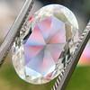 2.32ct Flat Oval Shape Diamond GIA J SI1 0