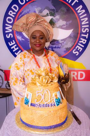 Olori Ruth Akinola Golden Jubilee Celebrations