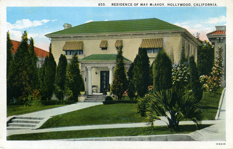 Residence of May McAvoy
