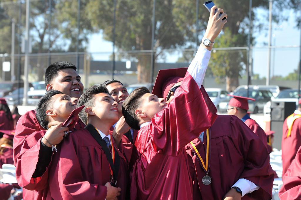 . LONG BEACH - 06/17/2015 - (Mark Savage) Woodrow Wilson Classical High School graduation at Wilson High School.