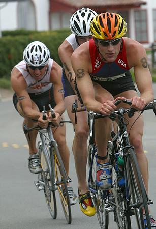 Pacific Grove triathlon 2002