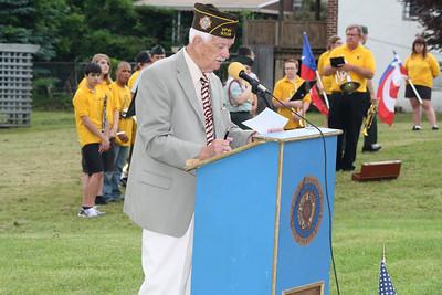 Memorial Day Service, Bull Run, Seek, Coaldale (5-27-2012)
