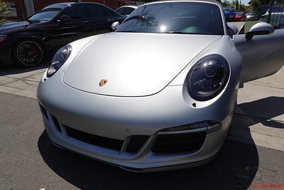 Porsche GTS 911 - Silver - XPEL Stealth PPF with CQuartz Finest Reserve Ceramic Coating