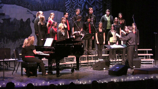 VIDEO WINTER CONCERT Concert Choir Welcome song