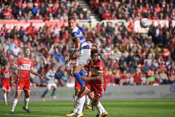Middlesbrough v Queens Park Rangers 16 - 09 - 17