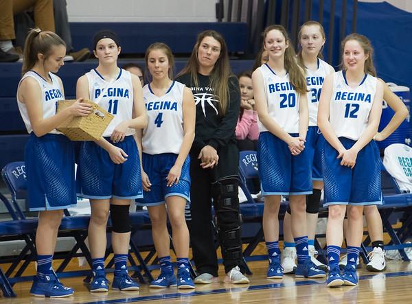 Regina Varsity Basketball v Shrine, 2-23-18