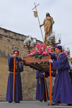 Villaviciosa (Asturias) Procesión de Resurrección