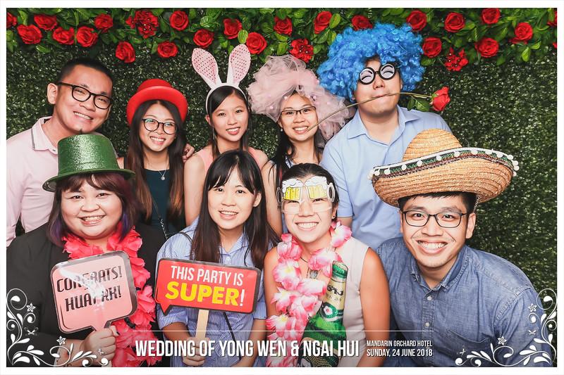 Wedding of Yong Wen & Ngai Hui | © www.SRSLYPhotobooth.sg