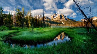 Sawtooth Mountains of Idaho