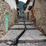 Ollantaytambo old streets, Peru