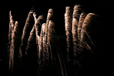 Roundwood fireworks
