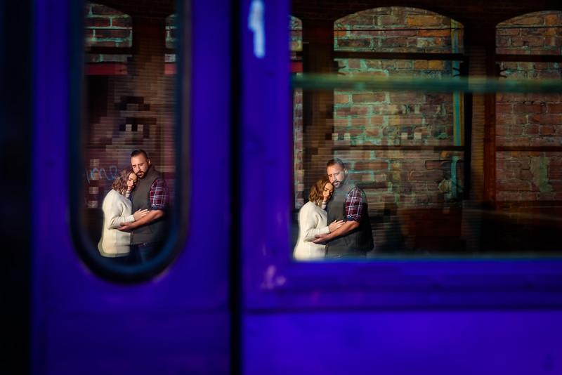 Cleia & Franks's Enagement Session - The Art Factory, Paterson, NJ