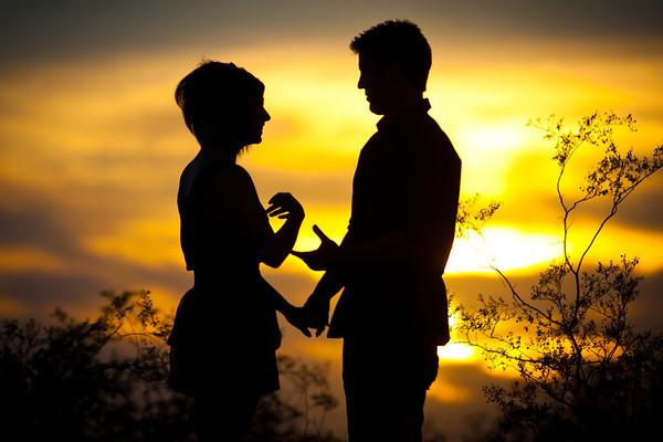 Alicia & Justin - Sunset