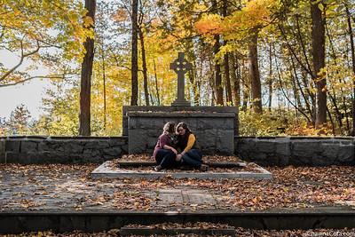 Michelle and Alyssa