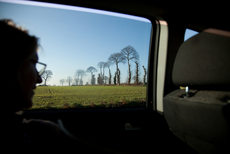 Another Henry shot. We loved the trees in the French countryside.