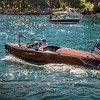 The Lady Barbara at the Tahoe classic wooden boat show, 2011