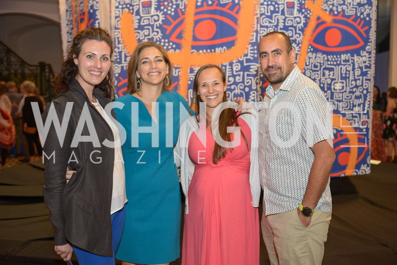 Allison Peck, Rachel Goslins, Melissa Rasowsky, Travis Helms, By The People, Arts Festival, Smithsonian Arts and Industries Building, June 14th, 2019.  Photo by Ben Droz.