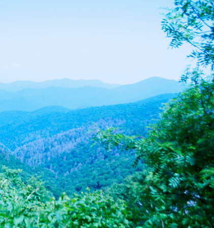 Blue Ridge Mountains and WaterFalls