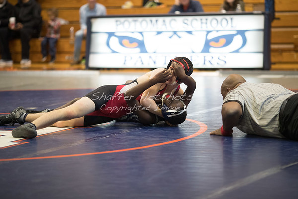 Wrestling Quad Meet at Potomac (12-16-17)