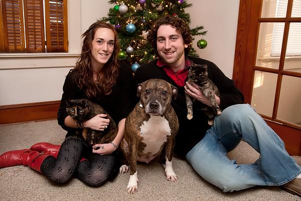 Rudy, Kristin&Pets!-12.22.10