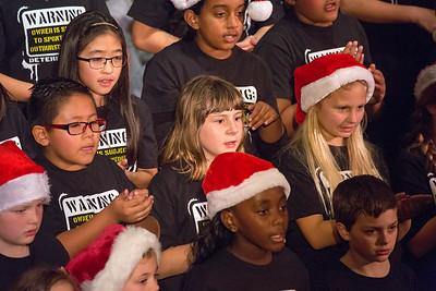 Deterding choir performance 12-9-15