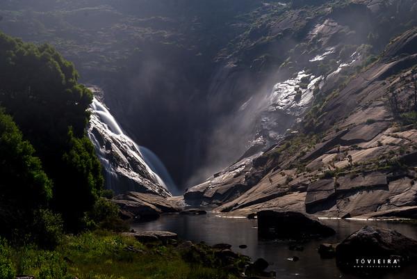 Xallas ou Ézaro - foz e cascata