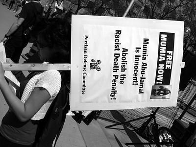 Free Mumia Abu-Jamal Rally